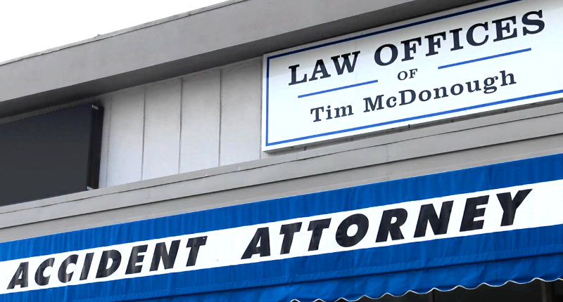 CAR ACCIDENT and PERSONAL INJURY ATTORNEY Tim McDonough
